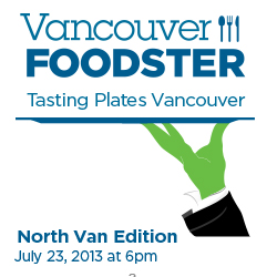 Tasting Plates North Van July 23