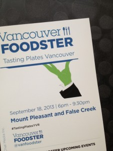 Tasting Plates in Mount Pleasant and False Creek