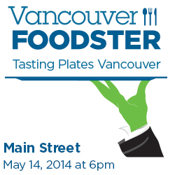 Tasting Plates Main Street on May 14