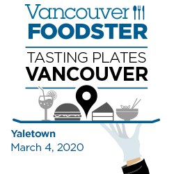 Tasting Plates Yaletown on March 4