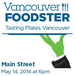 Tasting Plates Main Street on May 14