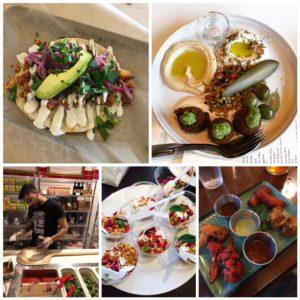 Tasting Plates Downtown Vancouver Vegetarian on September 26
