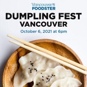 Dumpling Fest Vancouver on October 6